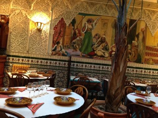 Et pour finir notre périple, un dernier repas dans un restaurant typiquement normand. :)